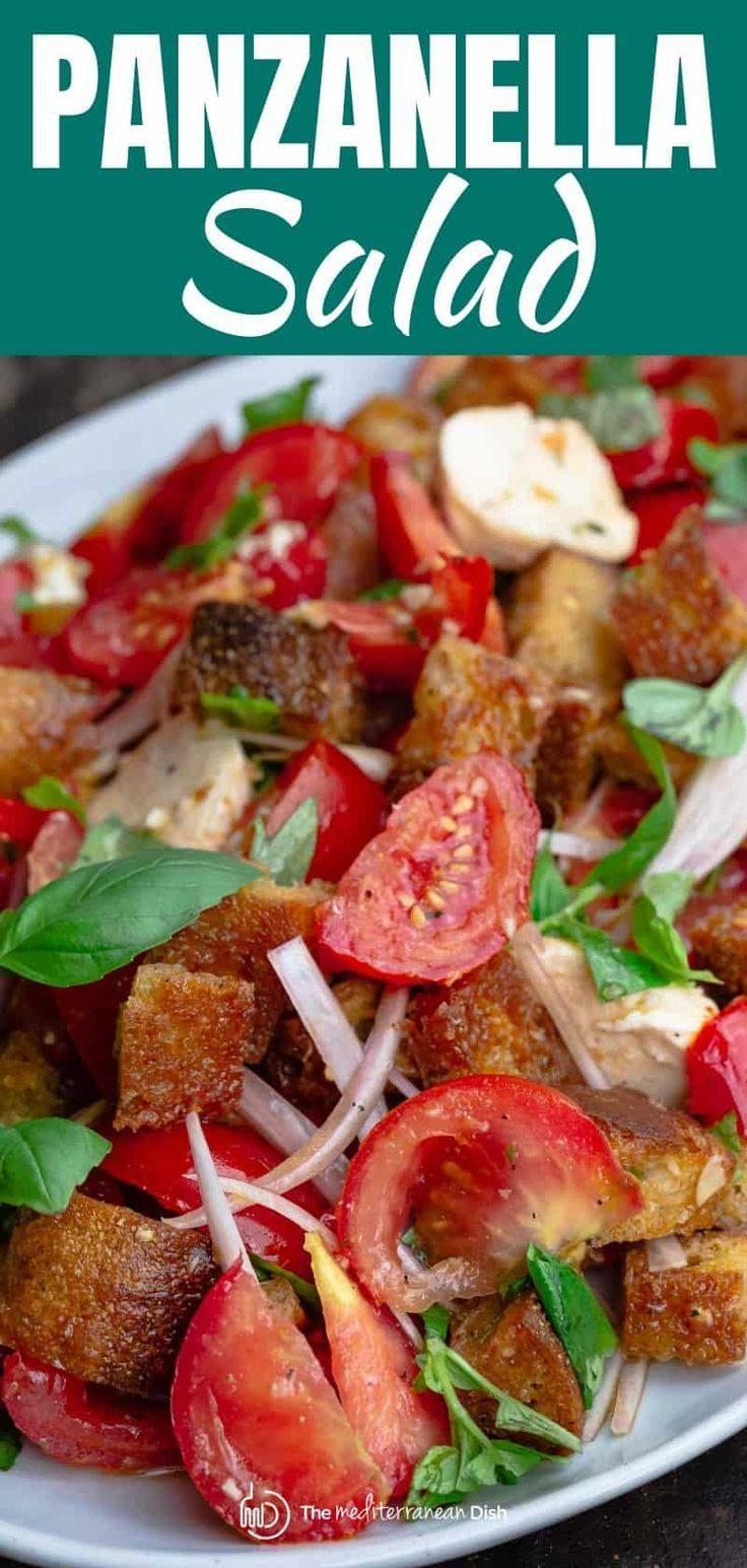Simple Tomato Panzanella Salad   The Mediterranean Dish ...