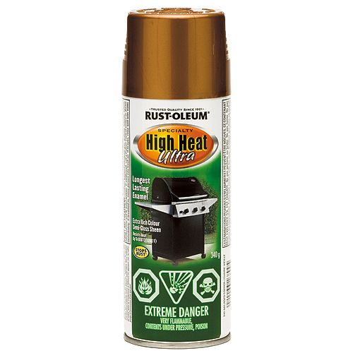 High Heat Spray Paint 340g - Aged Copper