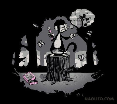 Grandiose Delusions – T-shirt available at Naolito.com