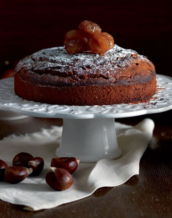 A delicious Winter time cake to accompany your tea or to have it plain any time of the day