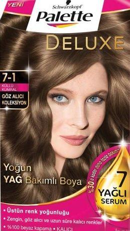Palette 2017 Saç Renk Kartelası - Palette Küllü Kumral Saç Boyası rengi