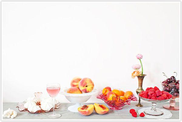 Amy Osaba Peaces & Cream styled table