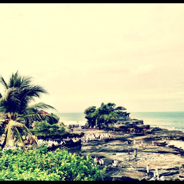Tanah Lot Temple...and surf spot