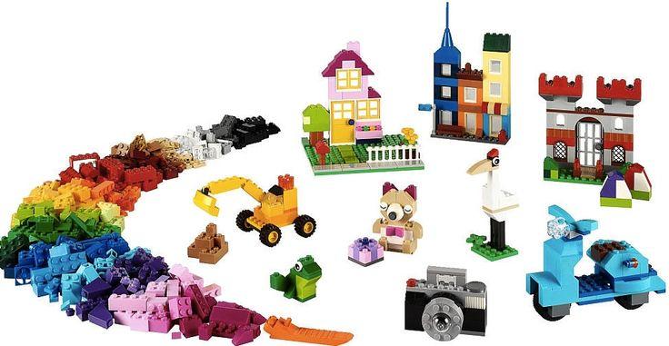 Lego Classic 10698 Velký kreativní box - 0