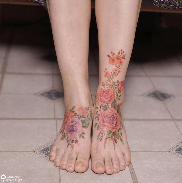 37 tatuagens femininas para os pés! em 2020 | Tatuagens femininas pes, Garotas com tatuagens no pé, Tatuagens no pé