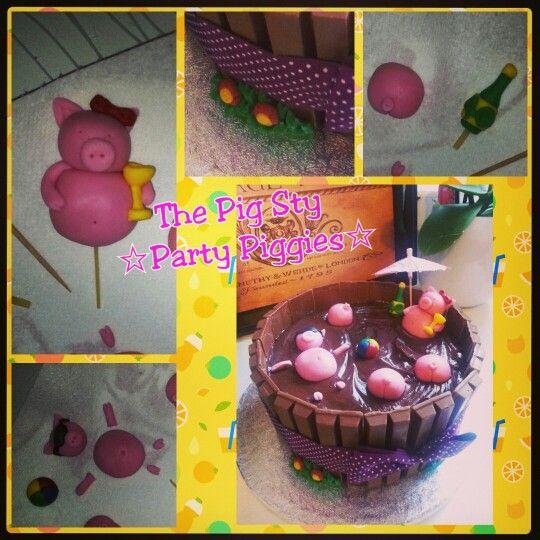 Simple pig cake