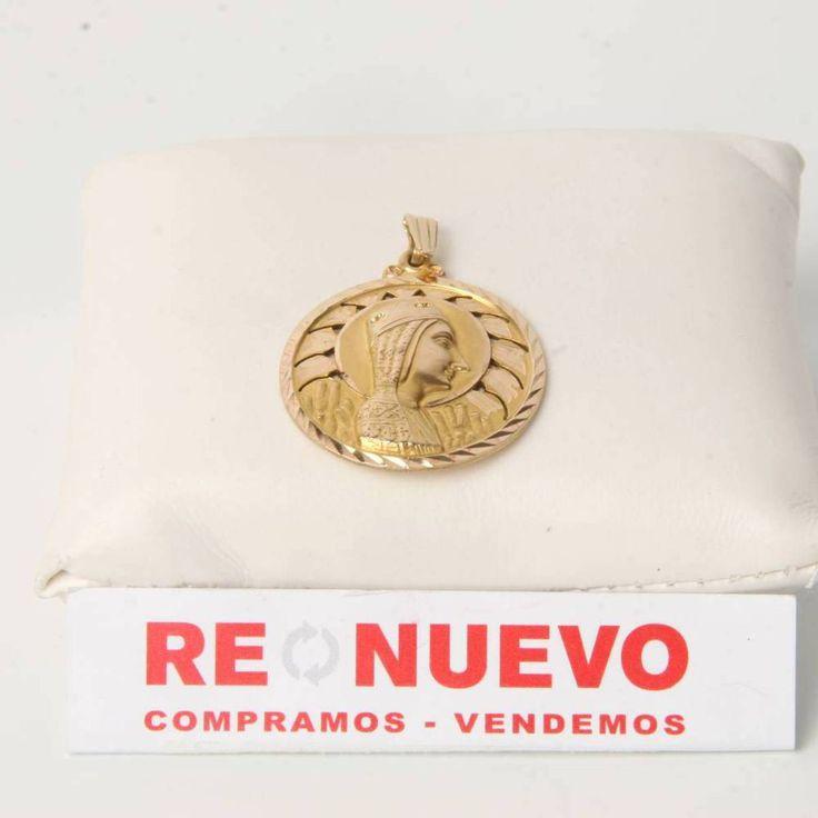 Medalla Virgen del Montserrat de oro de segunda mano E274462D | Tienda online de segunda mano en Barcelona Re-Nuevo