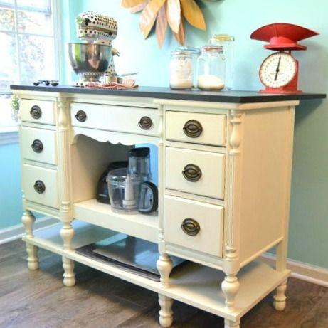 1000 Ideas About Repurposed Desk On Pinterest Shelves