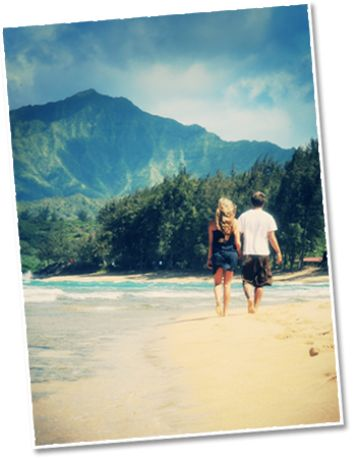 Kauai Condo Rentals : Oceanfront Lodging : Hanalei Colony Resort