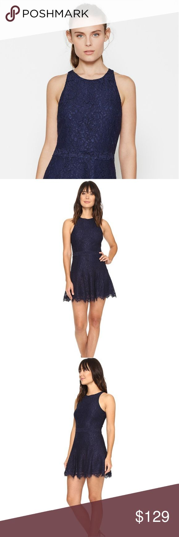 Joie | Adisa Lace Dress Navy lace makes a run for staple status with this party-perfect dress from Joie. Flaunting a body-hugging fit and flirty flounced hem, this confidently coquettish style boasts the staying power of a bonafide wardrobe classic.  Round neck Sleeveless Flounced scalloped hem Concealed back zip with hook-and-eye closure Lined  Thanks for stopping by and shopping my closet  🛍 Reasonable OFFERS always welcome 🛍  🎉Bundle & SAVE an extra 10% 🎉  📌 Let's be friends on IG…