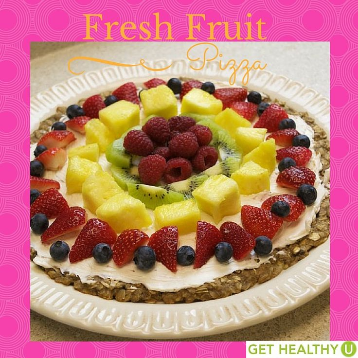 Fresh Fruit Pizza | Recipe | Beautiful, Pizza and Sweet