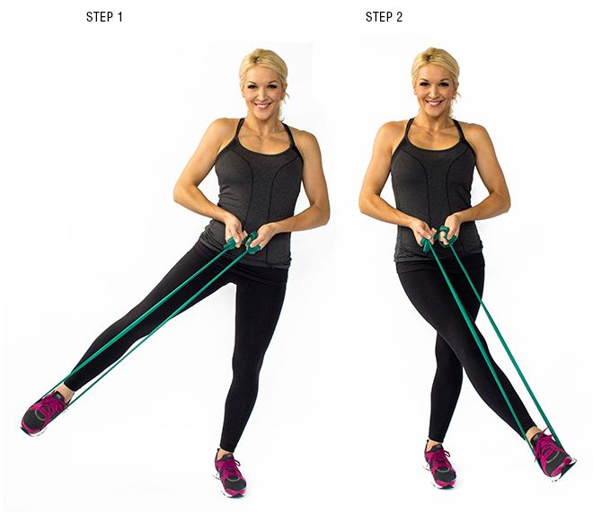 236 Best Images About EXERCISES / RESISTANCE BANDS On