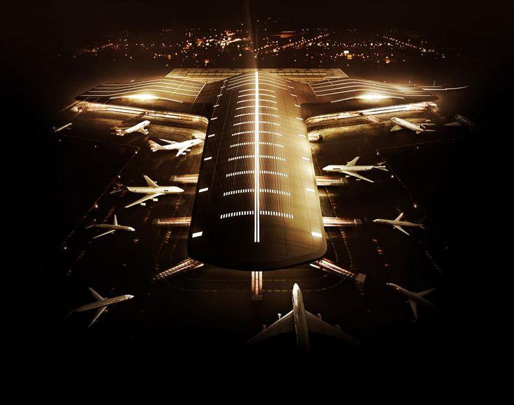 Complexo Terminal de Passageiros 3 Aeroporto de Guarulhos / Biselli + Katchborian Arquitetos - GPA Arquitetura e PJJ Malucelli Arquitetura