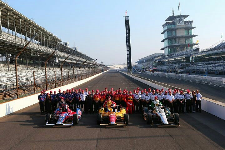 Starting line up for 2013 Indy 500. Congrats Ed Carpenter