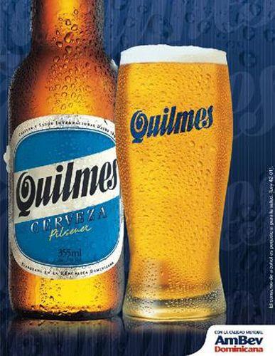 Una buena Quilmes para la tarde.