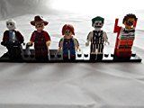 #4: Horror Movie Set of 5 Mini Figures Fit All Lego Playsets w/Freddy Jason Chucky and More