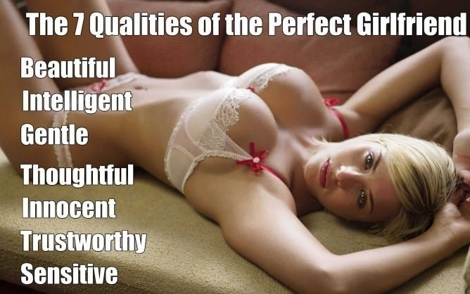 Perfect Girlfriend - funny pictures - funny photos - funny images - funny pics - funny quotes - #lol #humor #funny