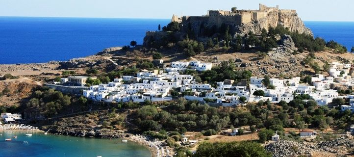 #LouisCruises #excursion to the impressive #Acropolis of Lindos, #Rhodes! Check out all of our excursions!!