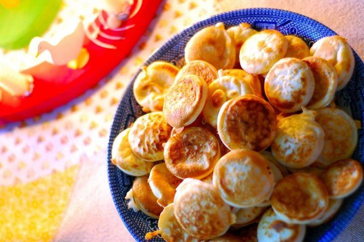 たこ焼き風のミニ・パンケーキ『ポッフェルチェ』オランダから