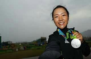 Lydia Ko sliver medal