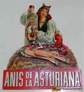ANIS LA ASTURIANA @@@@......http://www.pinterest.com/marajosmuoz/publicidad-antigua/