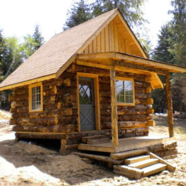 1000 images about cabins on pinterest steel house for Build rustic log cabin