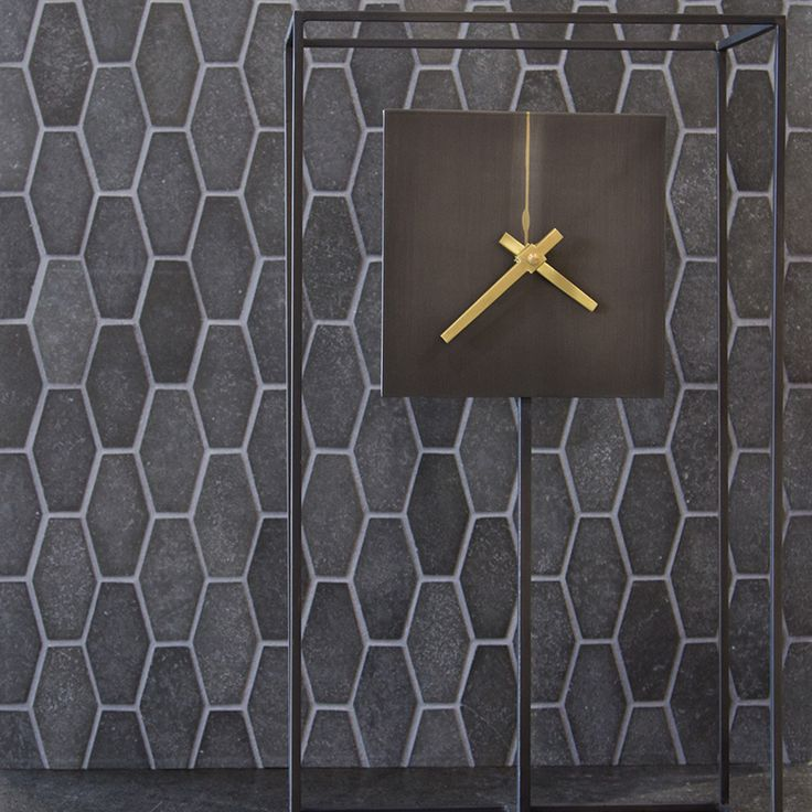 Basalto Stone #mosaic #tile  Basalt stone is the most common #volcanic #rock type on #Earth and other #terrestrial #planets (those closest to the sun) like #Mercury,