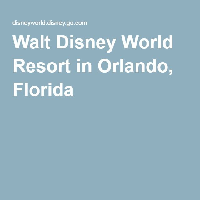 Walt Disney World Resort in Orlando, Florida