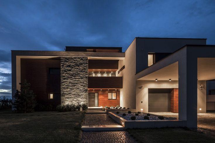 facade Project Balatonboglár 6 Massive Family Villa on the Southern Shore of Lake Balaton, Hungary