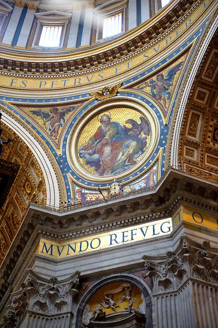 422 Best Images About ROME: ST. PETER'S BASILICA On