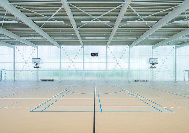 Neighbourhood Sports Centre Kiel,© Dries Luyten for City of Antwerp