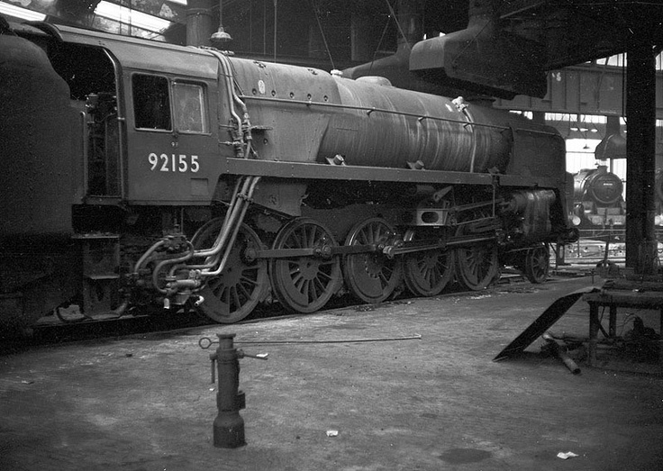 92155: at Saltley No 3 shed's turntable