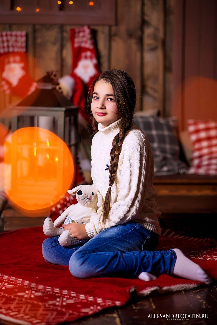 Детская новогодняя фотосессия в фотостудии Прованс.