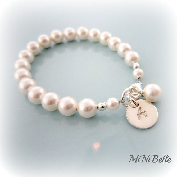 bracelet for Olivia's first birthday