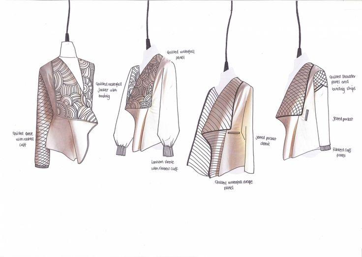Fashion Sketchbook - fashion drawings; garment sketches; fashion portfolio…