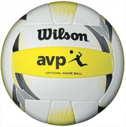 Wilson Official 2016 AVP Volleyball  Looking to play with best volleyball on the beach or grass that the pros play with? The new Wilson 2016 AVP Game Ball has set the standard to which all others aspire to achieve on the sand. Utilizing hand-sewn construction technologies, the AVP Game Ball is constructed with the finest materials and exquisite craftsmanship to provide the highest level of superior beach performance.