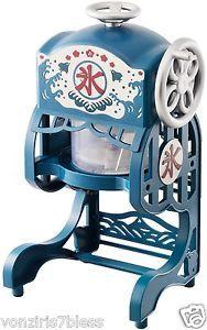 Kakigori Machine Shaved Ice Maker Japanese Retro Summer Dessert Machine | eBay