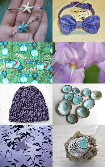 My Turquoise and Lavender Happy Place by mama chei on Etsy--Pinned with TreasuryPin.com