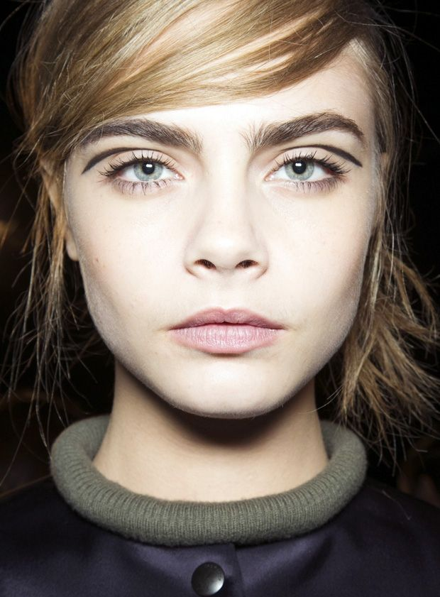 How to: Rag and Bone's graphic #retro eye makeup http://www.fashionising.com/beauty/b--graphic-retro-eye-makeup-57157.html #beauty