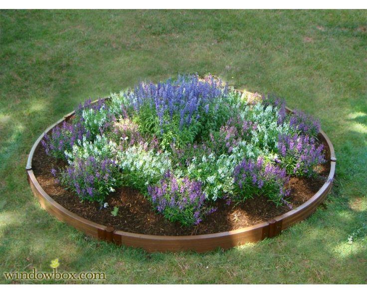 Round Garden Box