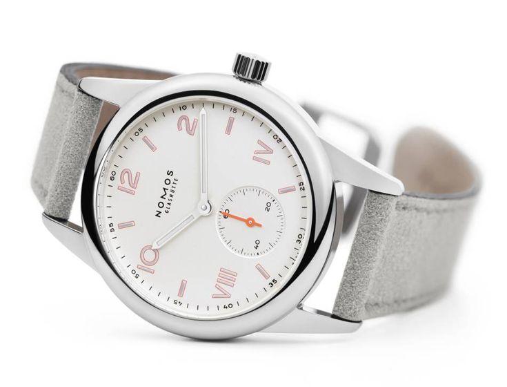 Nomos Club Campus : idéale comme première montre de luxe