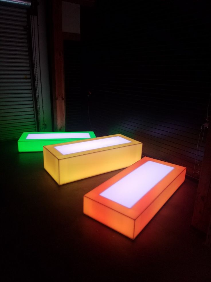 27 Best Light Up Tables Amp Led Platform Stages Images On