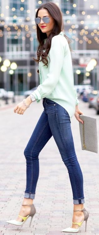 Classic Spring Street Outfits & Inspiration Ideas
