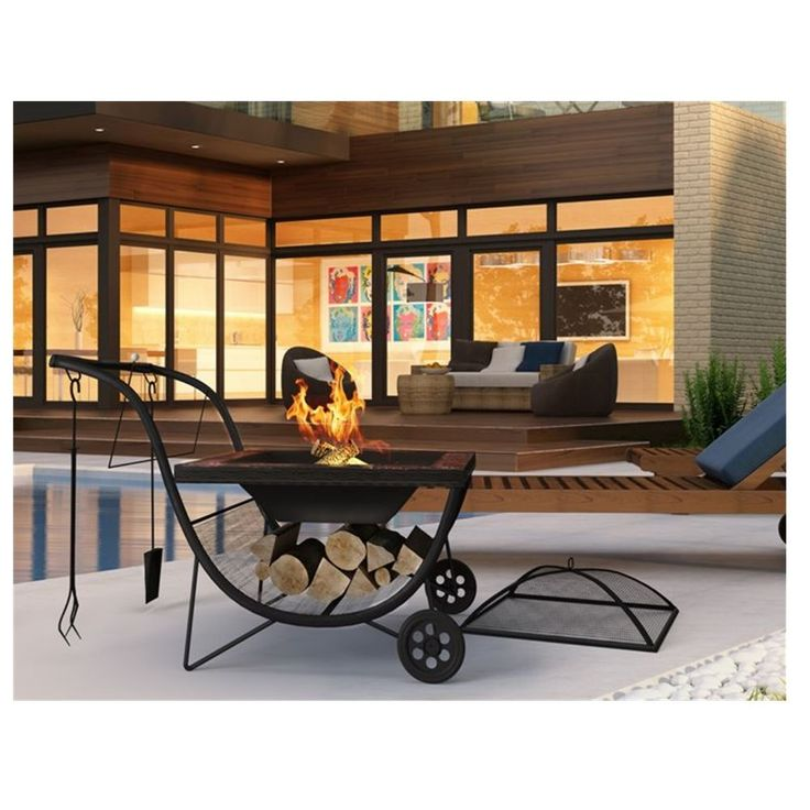 19 best garden furniture images on pinterest decks backyard portable fire pit grill barbecue 2 in 1 outdoor heating garden patio firepit bbq workwithnaturefo
