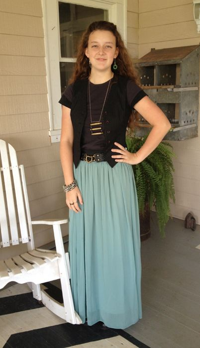 Winter girls....some cute ideas for dressing modestly this winter for teens!