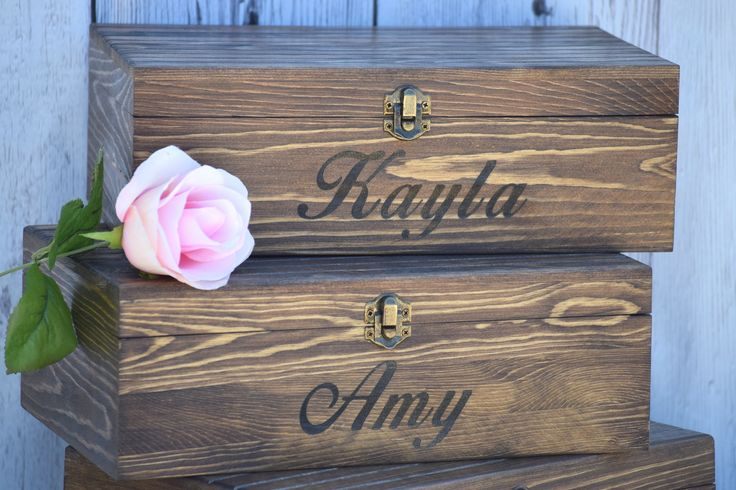Shoot. Just buy the box from hobby lobby, we'll stain it and monogram it and it's cheaper than $20 ea
