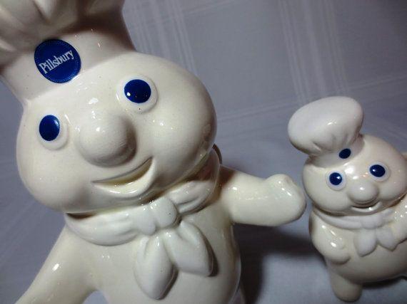 Pillsbury Dough Boys / Scouring Pad Holder / Utensil Holder / 1988