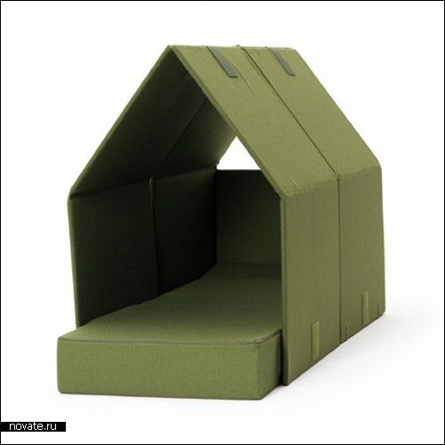 Домашняя *палатка*, она же диван-кровать Tent Sofa