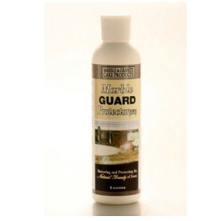 Marble Guard Protector (Sealer, Water Base). Use Marble Guard Protector to completely seal marble. This water-based marble sealer also works as a granite sealer, or for protecting stains on limestone, travertine, terrazzo, and other natural stones. Marble Guard Protector WB works best on unpolished marble. Marble Guard Protector SB (solvent base) works best on polished marble. 8 oz -$17.95, 16 oz - $25.95, 40 oz - $44.95