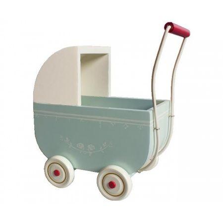 JOJOmode - Maileg - Kinderwagen Large Light Blue
